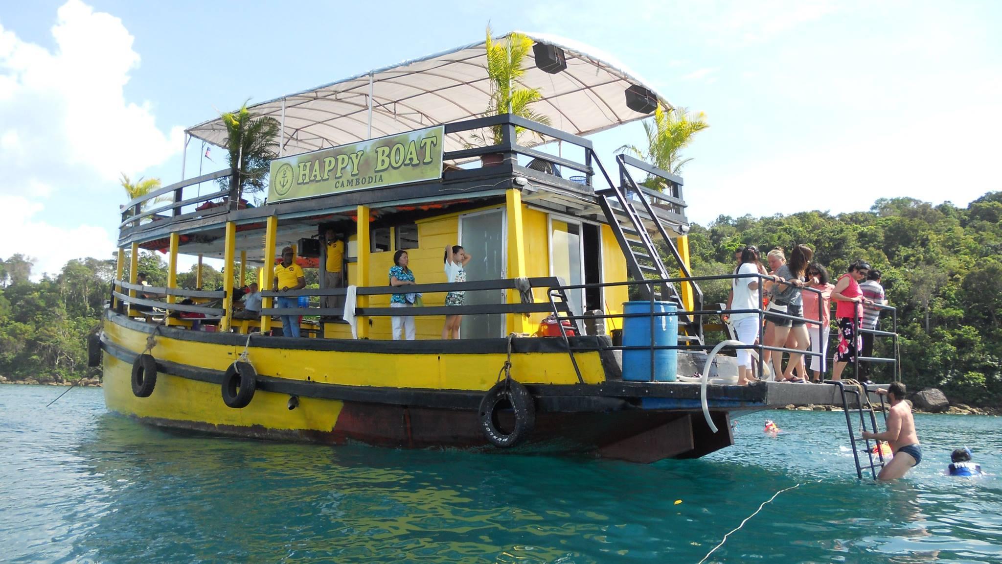 goi combo ve tau xe 2 - Gói Combo vé tàu xe từ Hà Tiên đến đảo Koh Rong Samloem và Koh Rong