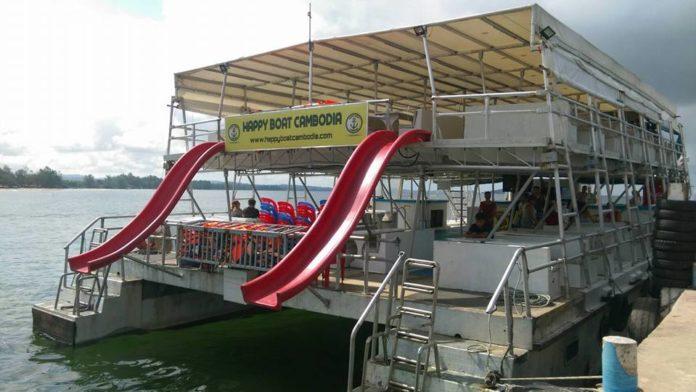 tdhappy boat cambodia - Đại lý bán vé tàu đi đảo Kohrong Samloem