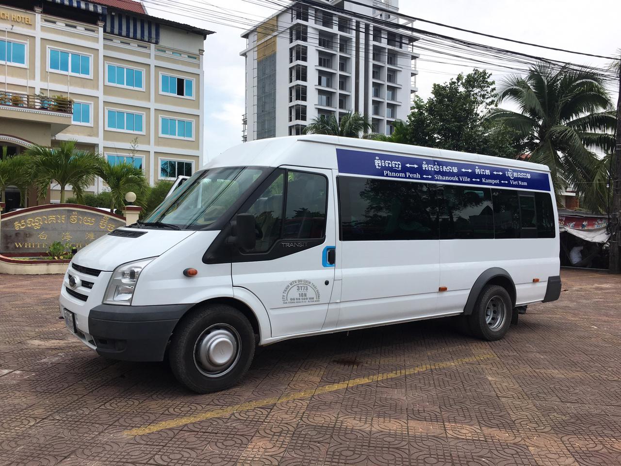 xe tdha tien di sihanoukville - Combo tàu xe khứ hồi từ Hà Tiên đến đảo Koh Rong Samloem hoặc Koh Rong